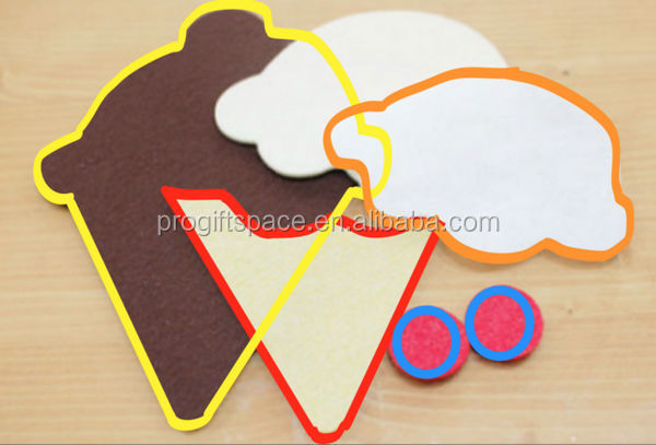 Hot sale simple fashion china items diy fabric shapes for Handmade things from waste material
