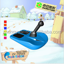 New design kids [plastic snow ski sled