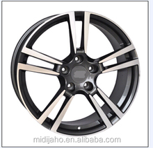 White Alloy Wheel with Blue Ring SIZE 18X9.0jj ET 15 H/PCD 5X100