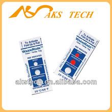 warmmark temperature sensitive label / heat activated sticker