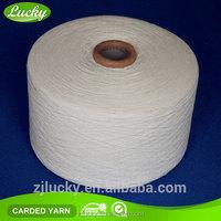65/35 polyester cotton yarn Ne6/1, Ne8/1 gloves yarn in cotton yarn market