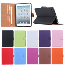 Hot sell PVC and PU leather trim tablet pc case for Ipad mini case cover