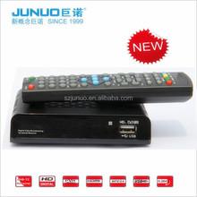 Reliable full hd media player H.264 DVB T2 Digital Receiver set top box dvb t2 jpeg decoder