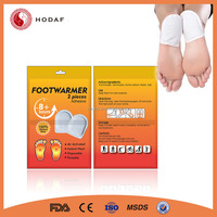 OEM ODM Offered Heating Warmer Pad Acupuncture Foot Patch