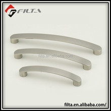 SATIN NICKEL ROUND ENDED CABINET BOW HANDLES