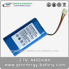 3.7v 4400mah 18650 li-ion battery pack 3.7v 1S2P