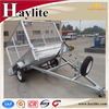 galvaized heavy duty strong box utility trailer