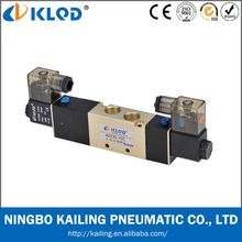 1/4 inch Pilot acting ally material 5/3 way pneumatic solenoid valves, model 4V230-08
