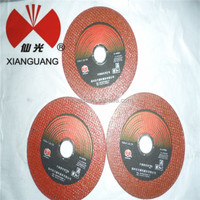 Red cutting wheel BF 4'' high-profile cutting disks for metal Indonesia Active