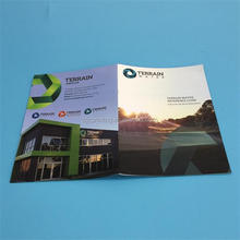 Custom glossy laminated full color mellow mail catalog with good quality
