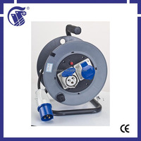 industrial equippment IP44 small retractable electrical extension cable reel