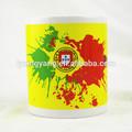 Sublimação caneca, xícara de café cerâmica logo, café logo