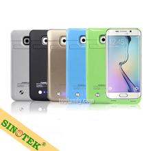 SINOTEK 4200mah backup case power pack for Samsung Galaxy S6 edge,backup power case