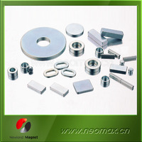 disc/cylinder/block/magnetic bar/round shape with hole neodymium rare earth magnet