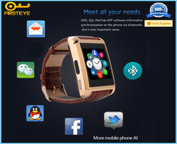 Aipker cheapest smart mobile watch u8 , sports U8 smart watch