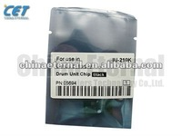 drum unit chip black repare parts use in Minolta Bizhub C250/252, copier parts, IU-210K