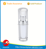 Transparent plastic bottles, alibaba China clear plastic package, round cosmetic containers