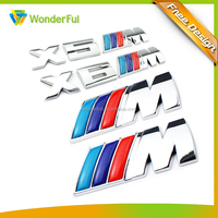 Chrome Motorcycle Abs Badge /Logo Car Emblem with Epoxy
