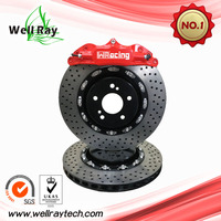 ISO Approval Wholesale High Quality Front/Rear Big 4 Pot Car Brake Rotor with High Performance Pad