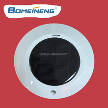 BMN909-4 White UFO car air purified with aroma diffuser with solar powered purifier