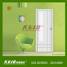 Green products Waterproof WPC Interior Door for bedroom bathroom