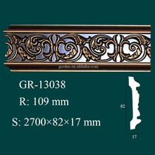 Environmental and Fashionable Hand Carved Skirting Boards for Ceiling and Wall