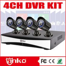 2015 New AHD Kit DVR 4 cameras factory security system