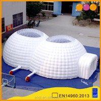 AOQI outdoor durable used sewed Igloo tents advertisement tent for sale