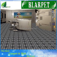 Newest most popular design rubber tufted carpet mat