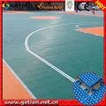 esportes quadra de basquete telha de plástico