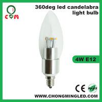 3w E12 110v Led Candle Bulb with LG Sourcing Led Light Bulb 3W-6W Avaliable