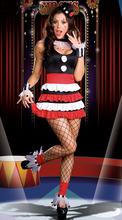 lindo vestido de payaso de disfraces de halloween disfraces de carnaval