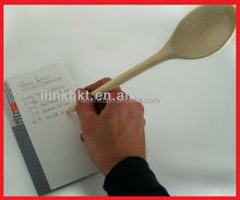 Wooden Spoon writing Pen with Burnt Logo