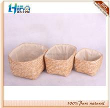 Small Wheat Straw Storage Basket