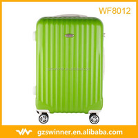 Factory Price ABS Luggage Sets, Spinner Wheels Aluminum Trolley travel Luggage