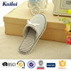 hand made gray wholesale cheap kids slippers