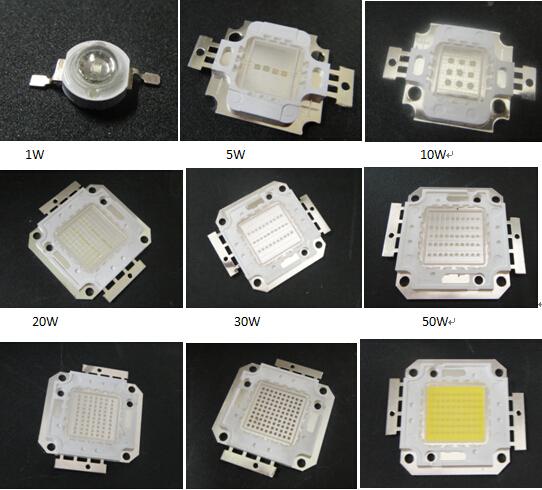 1w-100w LED chips