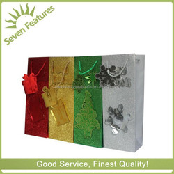 2015 hot seal cute paper shopping bag for gift