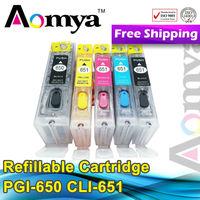 For canon printers Refill Ink Cartridge PGI650/CLI651