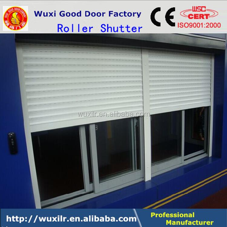 Exterior automatic aluminum roller shutter high speed