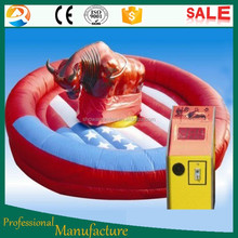 inflatable mechanical bull for sale/cheap price inflatable mechanical bull/rodeo bull for sale