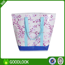 2015 top sale promotion recyclable laminated pp non woven bag