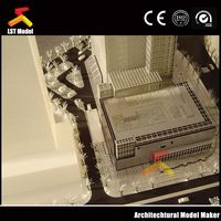 LST China factory made residential block model
