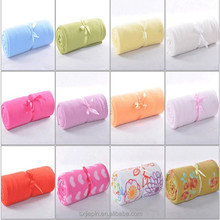 Top quality cheap printed coral fleece baby blanket