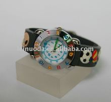 2012 Summer Children's days 3d band new design kid watch