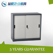 Finance office double sliding door file cabinet steel cabinet