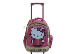 China wholesale school bag with wheels