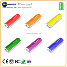 Mini 2400mAh Power Bank Powerseed with Full Capacity Charger