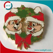 Christmas Metal Lapel Pin Badge/Emblem Gift