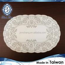 Premium PVC Embossed Lace Dinning Mat